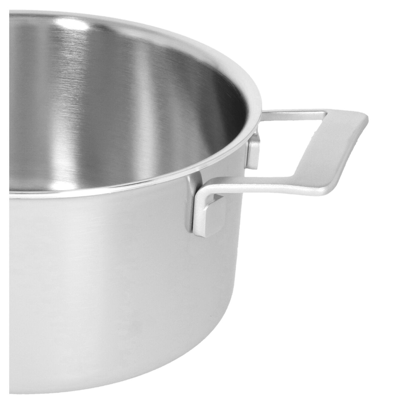 5.5 qt, 18/10 Stainless Steel, Stew pot with lid,,large 4
