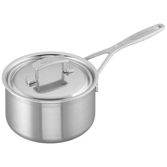 2-qt Stainless Steel Saucepan,,large