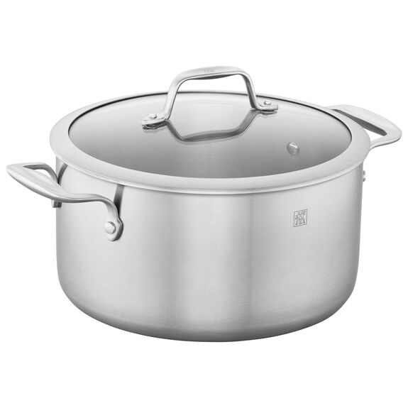 3-ply 6-qt Stainless Steel Dutch Oven,,large