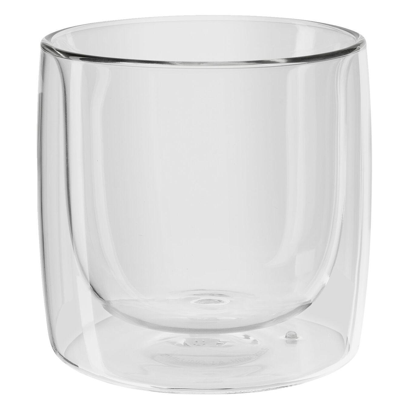 Set di bicchieri da whisky - 2-pz., vetro borosilicato,,large 1
