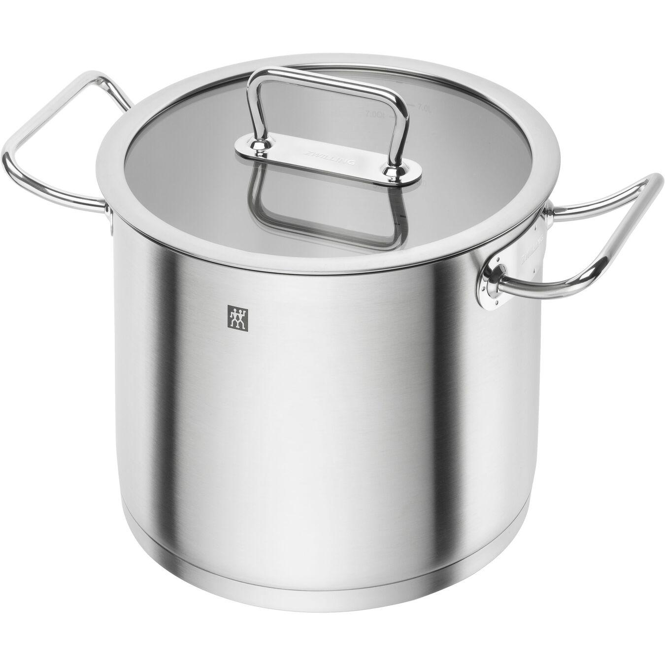 Suppegryde Højsidet 24 cm, 18/10 rustfrit stål,,large 1