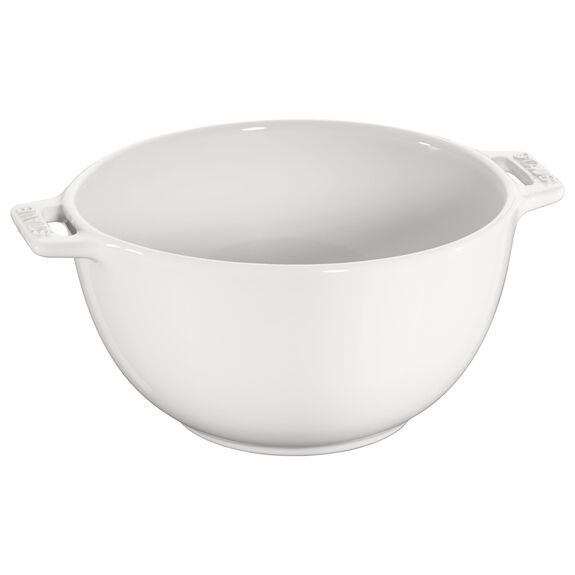 7-inch Small Serving Bowl - White,,large