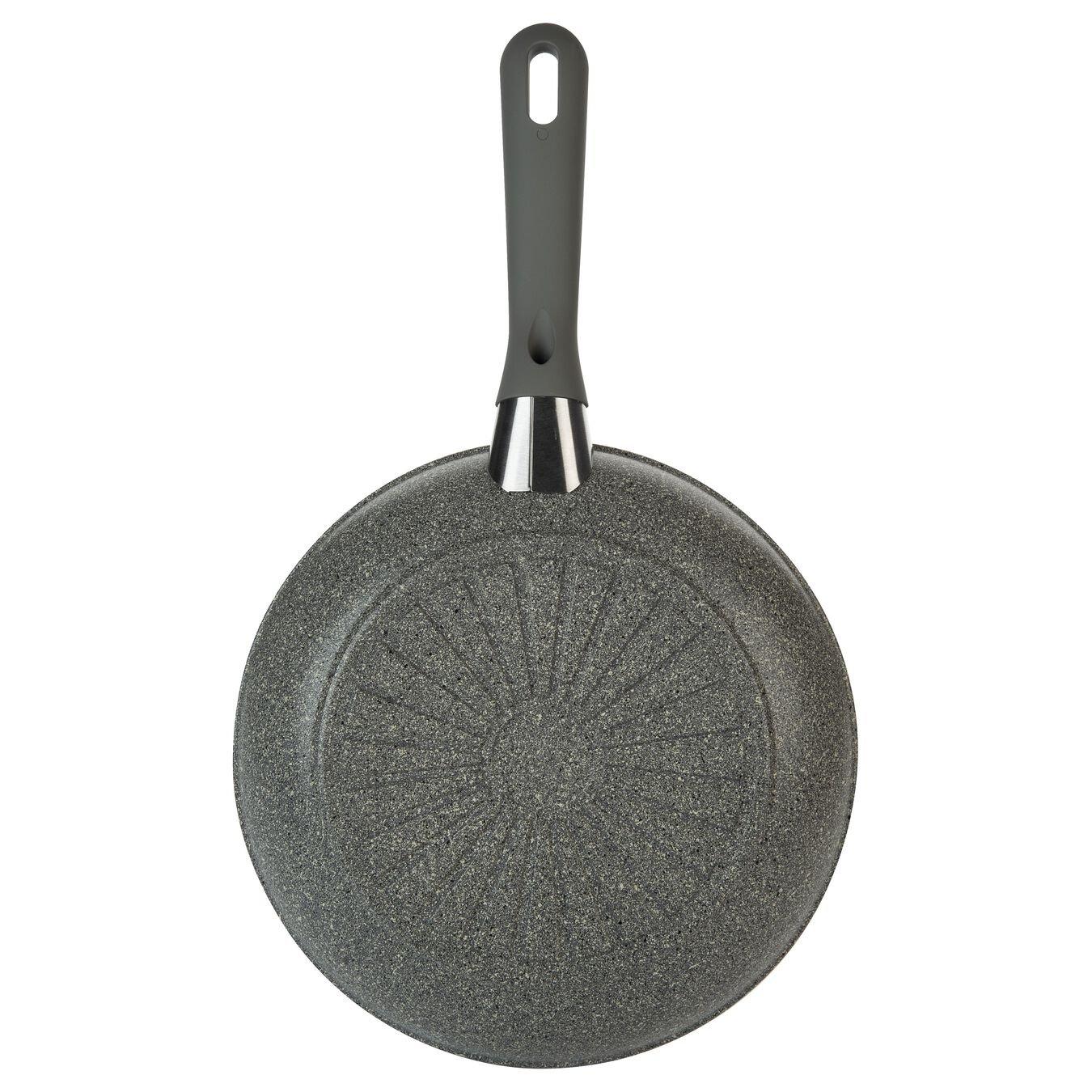 Bratpfanne 24 cm, Aluminium, Steinoptik grau,,large 4