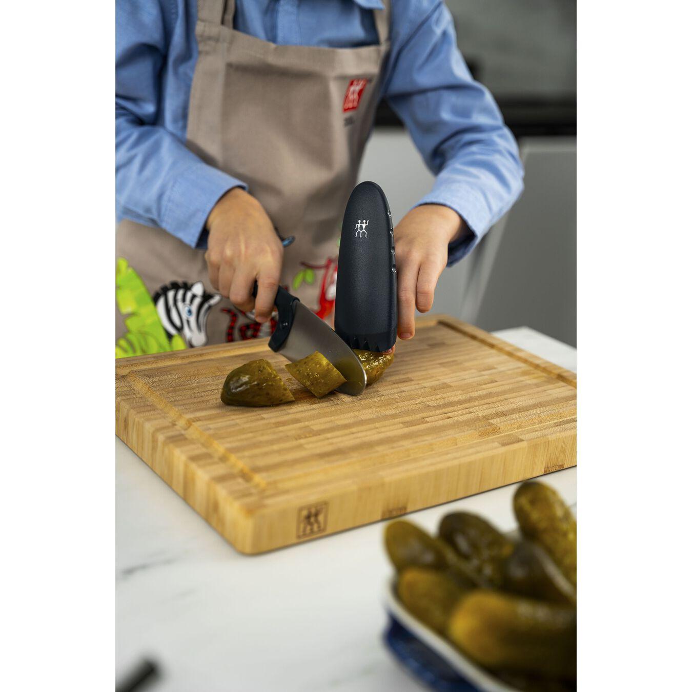 Coltello da cuoco - 10 cm, blu,,large 13