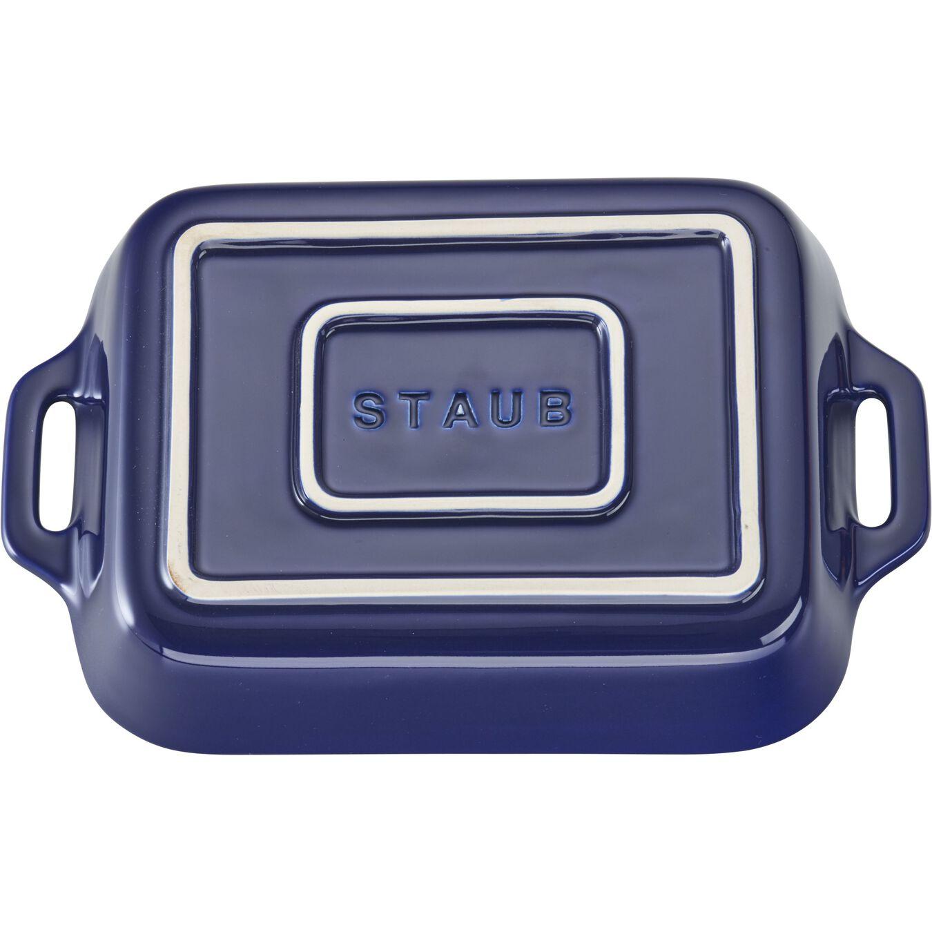 4-pc Baking Dish Set - Dark Blue,,large 2