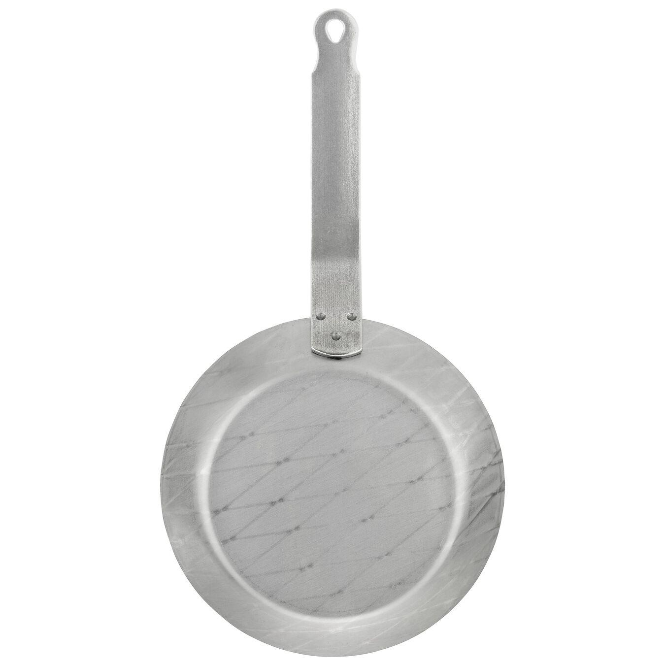 Bratpfanne 20 cm, Kohlenstoffstahl, Grau,,large 2