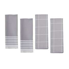 ZWILLING Accessories, 4-pc Kitchen Towel Set - Grey