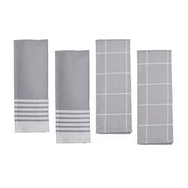 ZWILLING Accessories, 4-pc Kitchen Towel Set - Grey