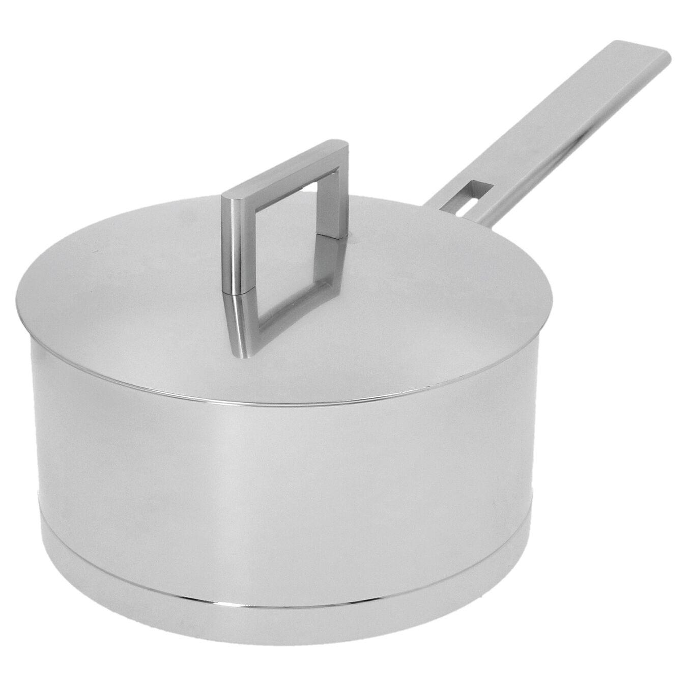 Sos Tenceresi Kapaklı | 18/10 Paslanmaz Çelik | 20 cm | Metalik Gri,,large 5