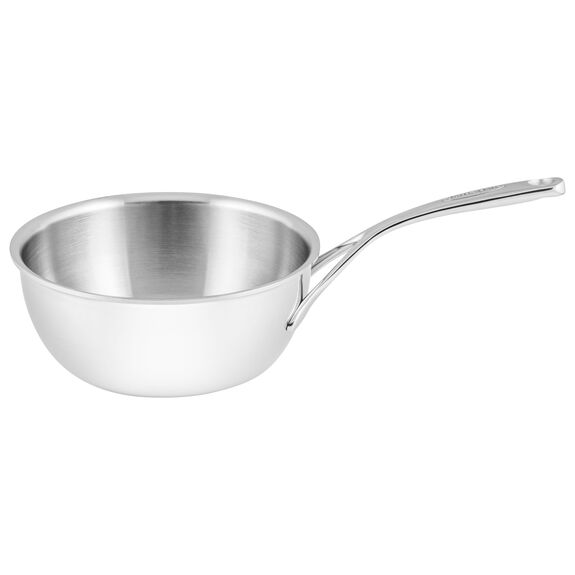 Sauteuse conical, 20 cm | round | Silver,,large