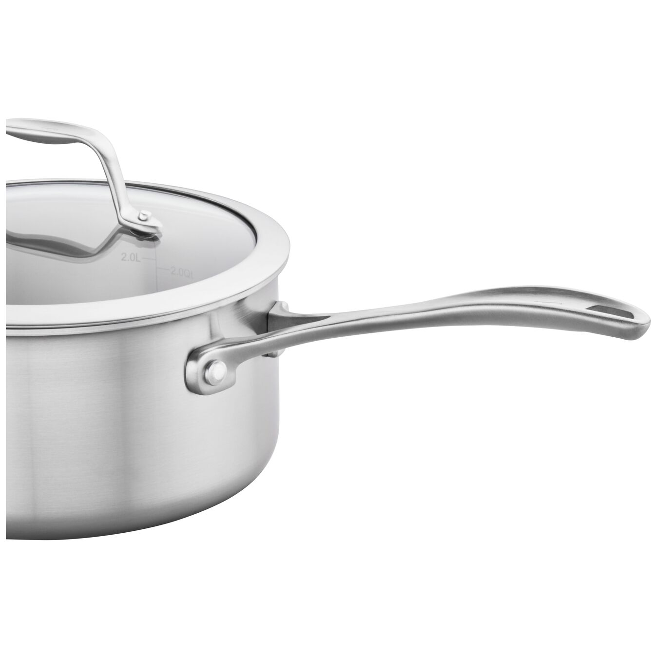 3-ply 3-qt Stainless Steel Saucepan,,large 3