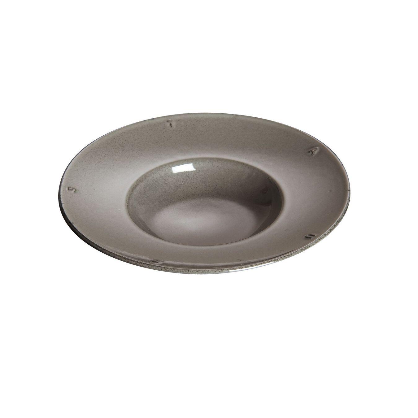 21 cm Cast iron round Plate, graphite-grey,,large 3