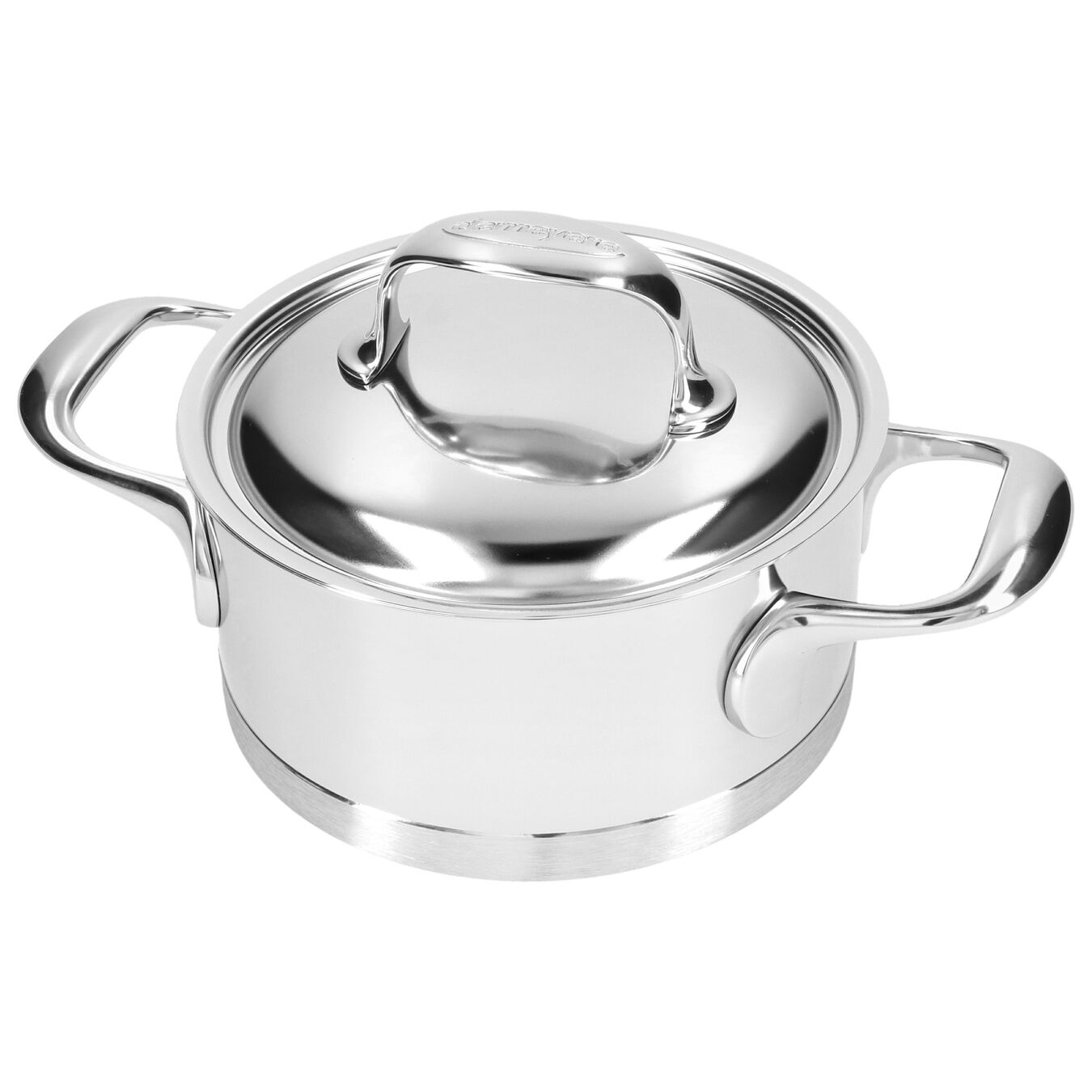 1.5 l 18/10 Stainless Steel Stew pot with lid,,large 5