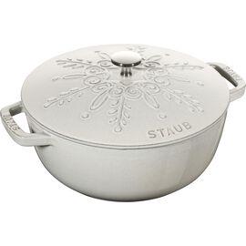 Staub La Cocotte, 3.6 l round French oven, white truffle