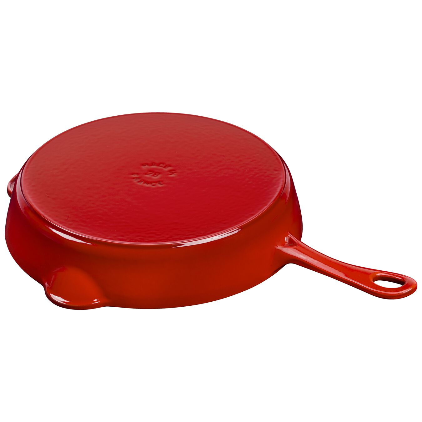 11-inch, Frying pan, cherry,,large 5