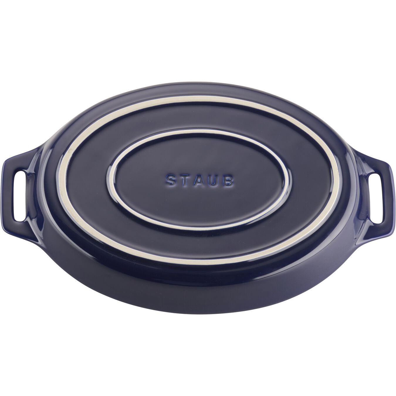 2-pc, oval, Baking Dish Set, dark blue,,large 5