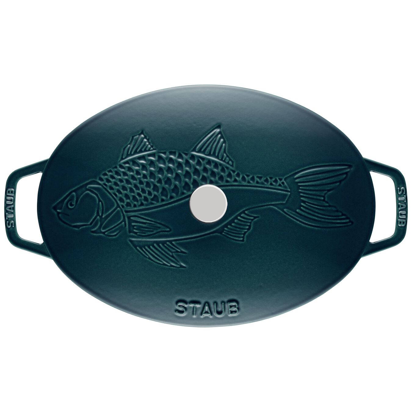 13-inch, oval, Oven dish with lid, la mer,,large 4