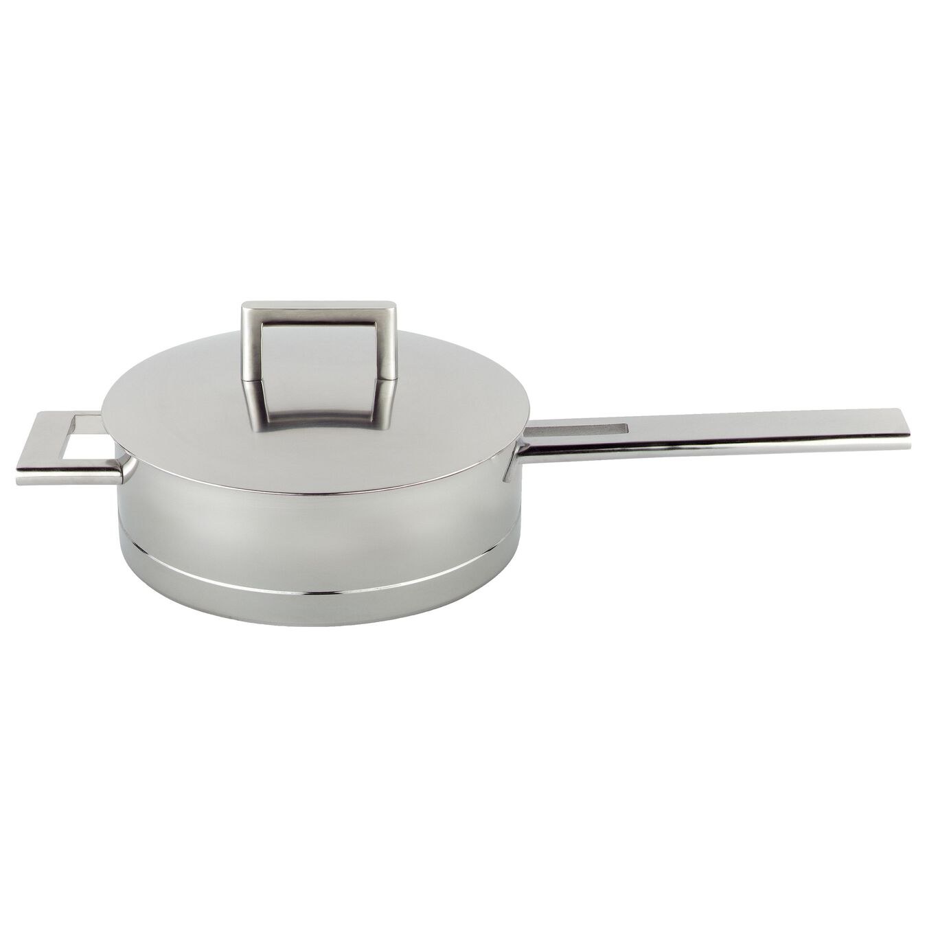 5.1-qt Stainless Steel Saute Pan with Helper Handle,,large 1