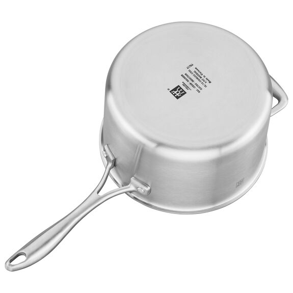 3-ply 4-qt Stainless Steel Ceramic Nonstick Saucepan,,large