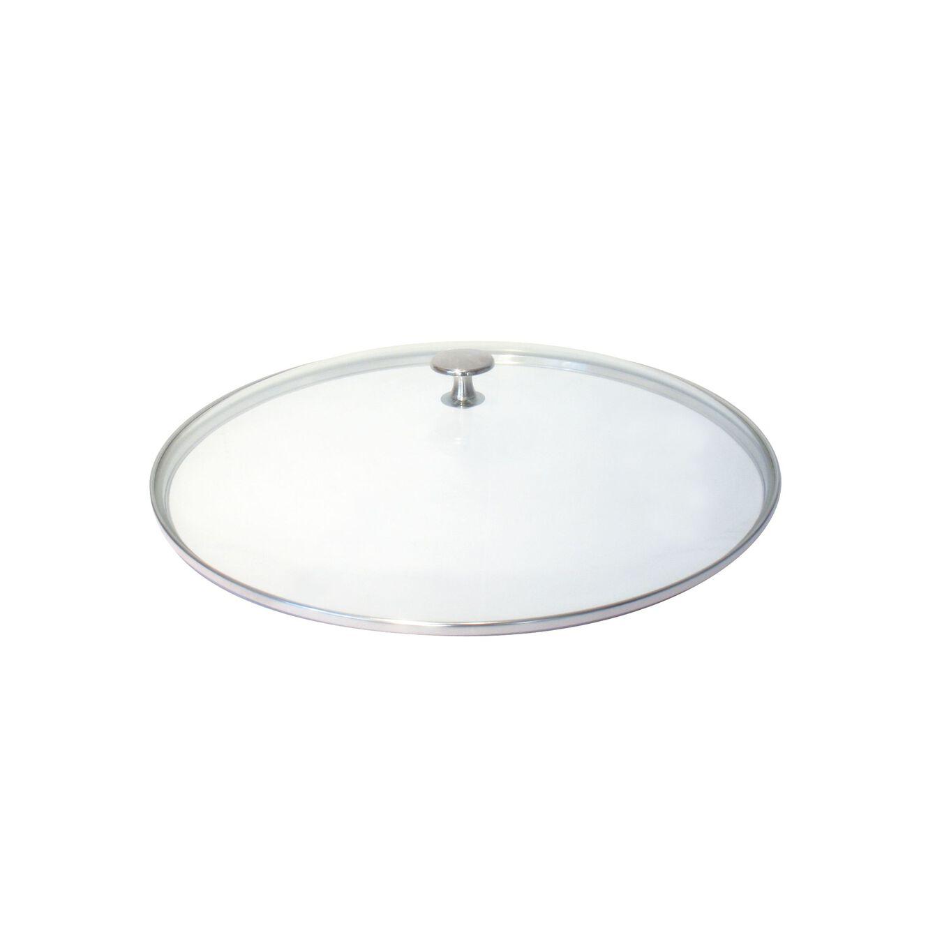 Couvercle, 16 cm   Rond(e)   Verre   Transparent,,large 1