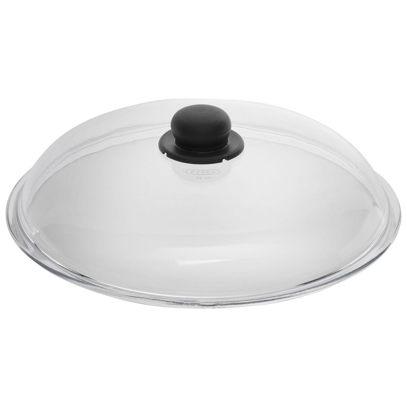 Deckel, 32 cm | rund | Glas,,large 1