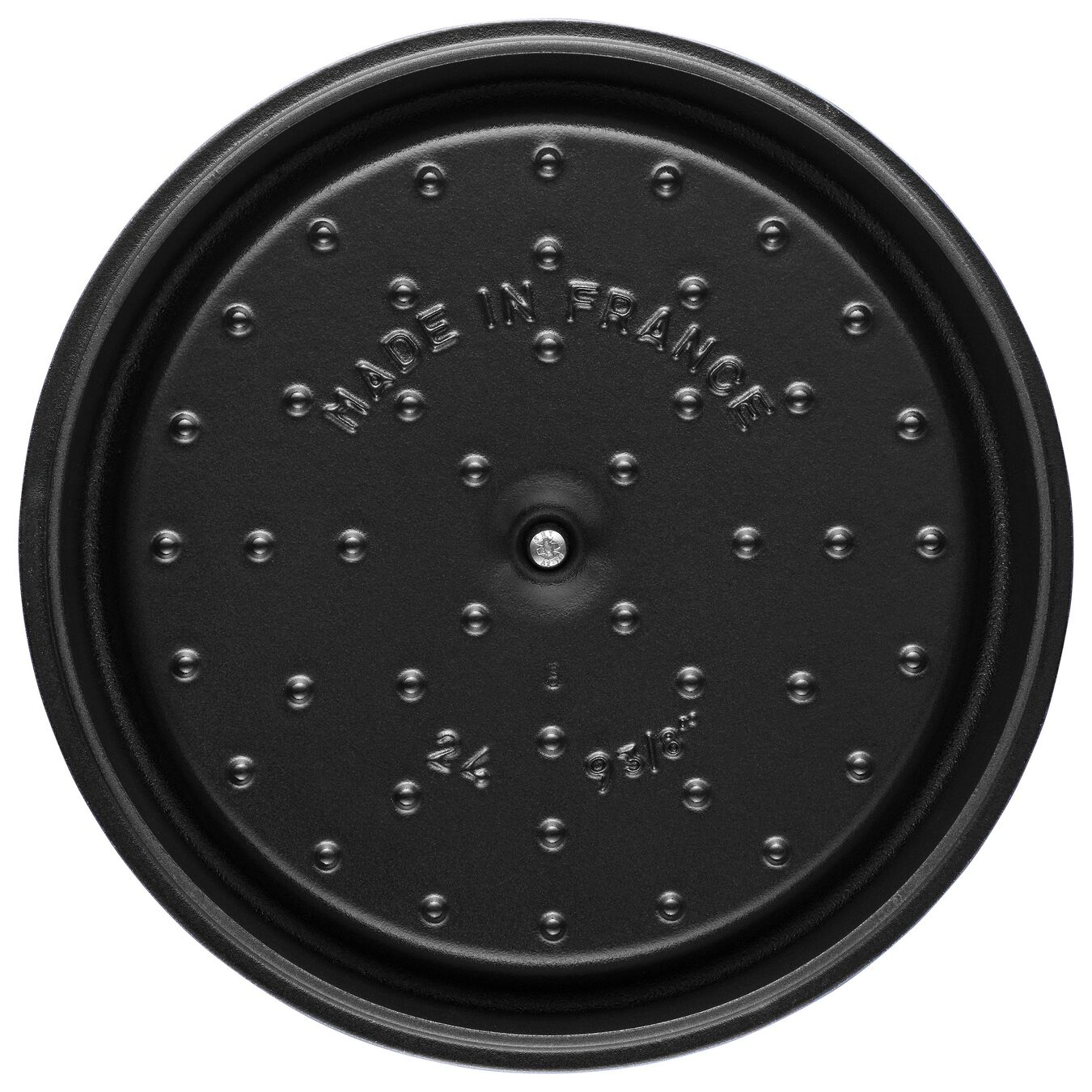 4.75 l Cast iron round Cocotte, shiny-black,,large 2