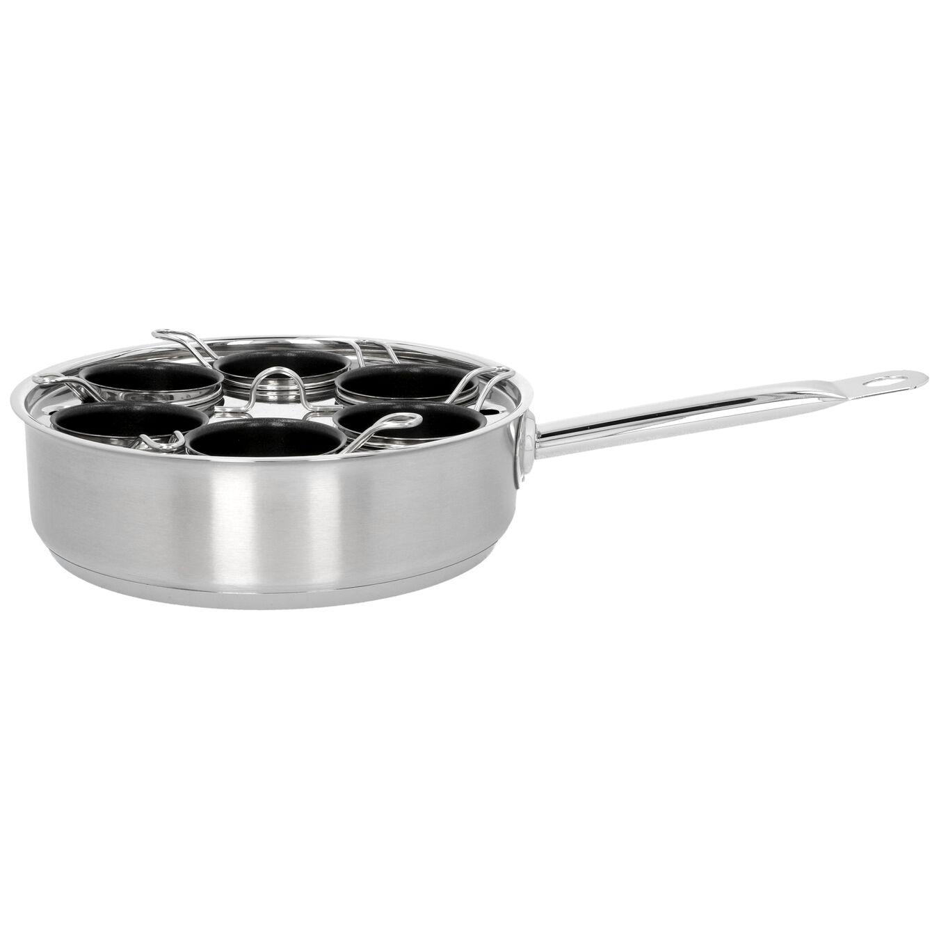 Set cuisson vapeur 6 inserts 22 cm,,large 1