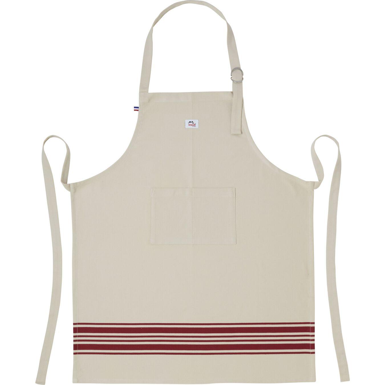 85 cm x 70 cm Kitchen apron, red,,large 1