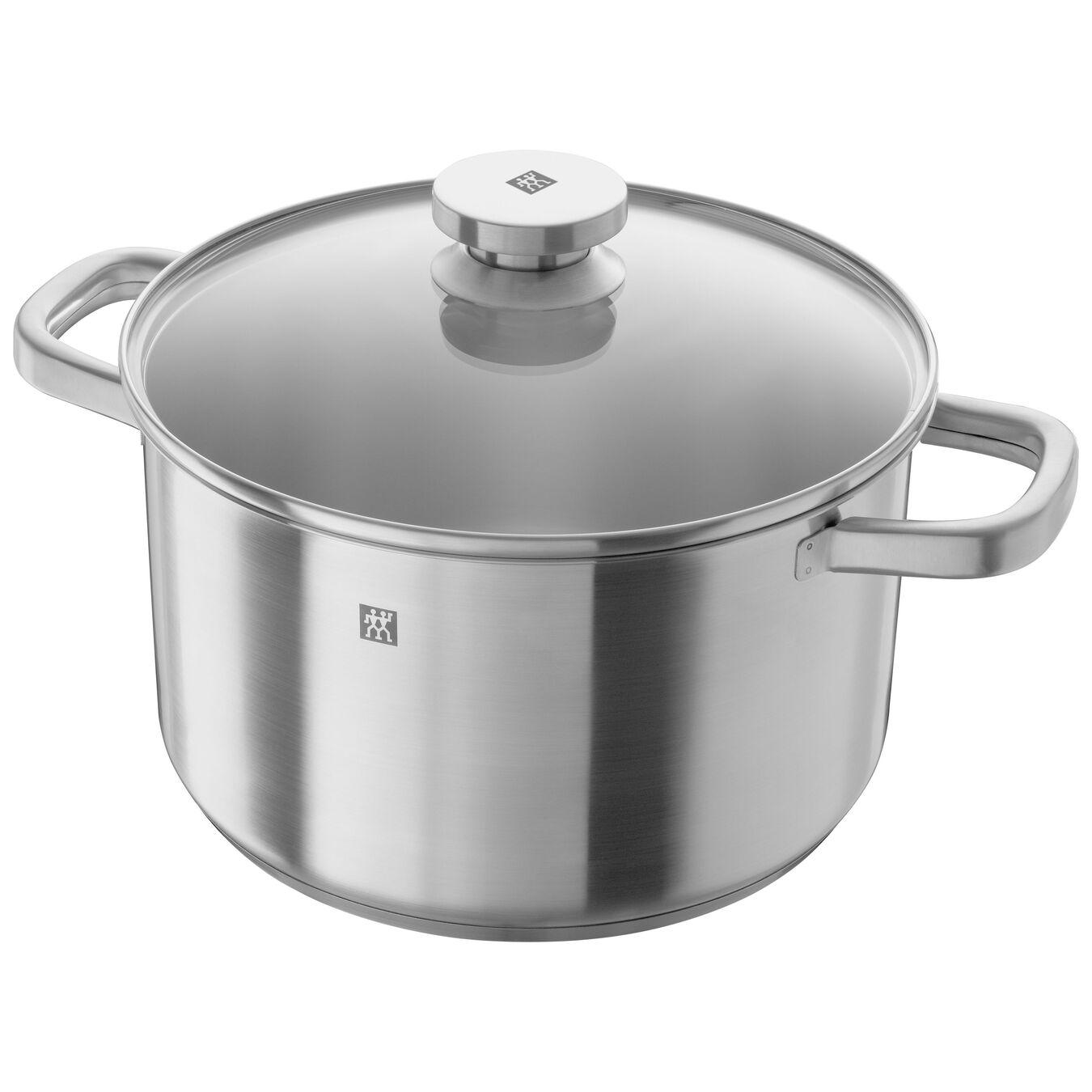 12-pcs 18/10 Stainless Steel Ensemble de casseroles et poêles,,large 5
