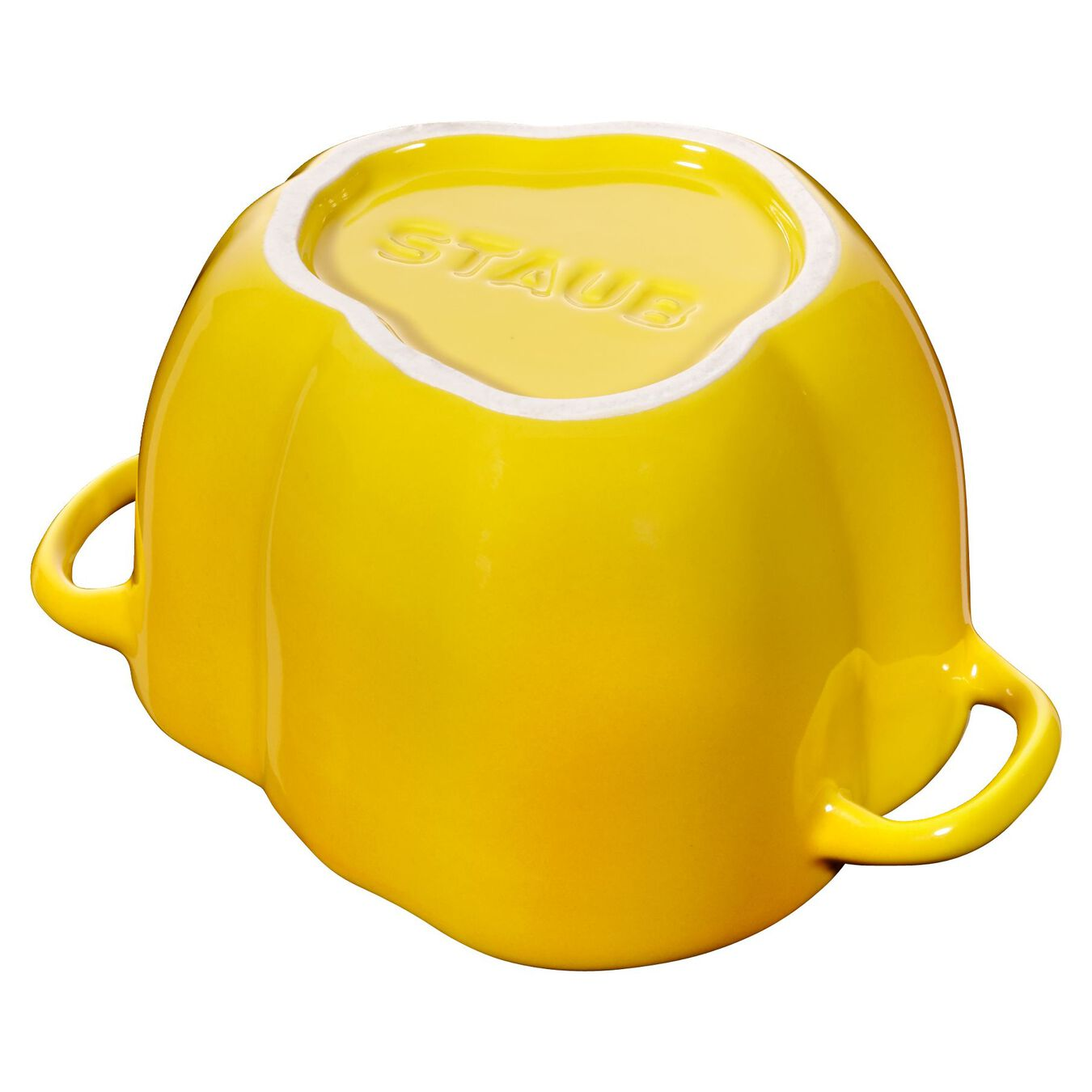 450 ml Ceramic pepper Cocotte, yellow,,large 3