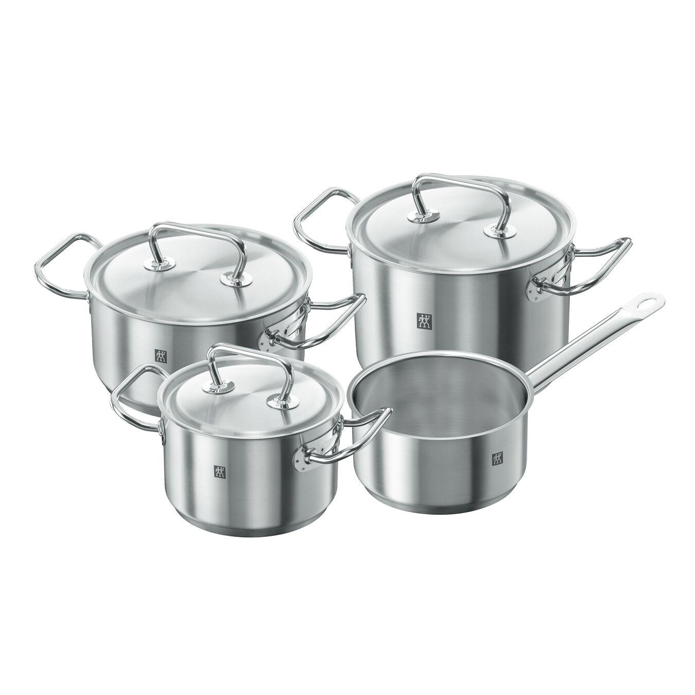 Ensemble de casseroles 4-pcs, Inox 18/10,,large 1