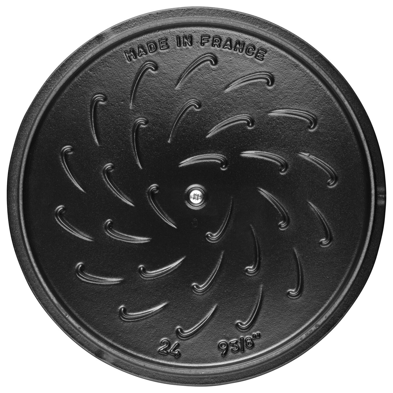 3.75 qt, Essential French Oven Rooster Lid, grenadine,,large 6