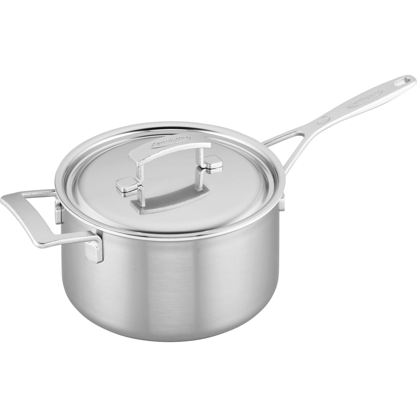 4 qt Saucepan with Helper Handle and lid, 18/10 Stainless Steel ,,large 1