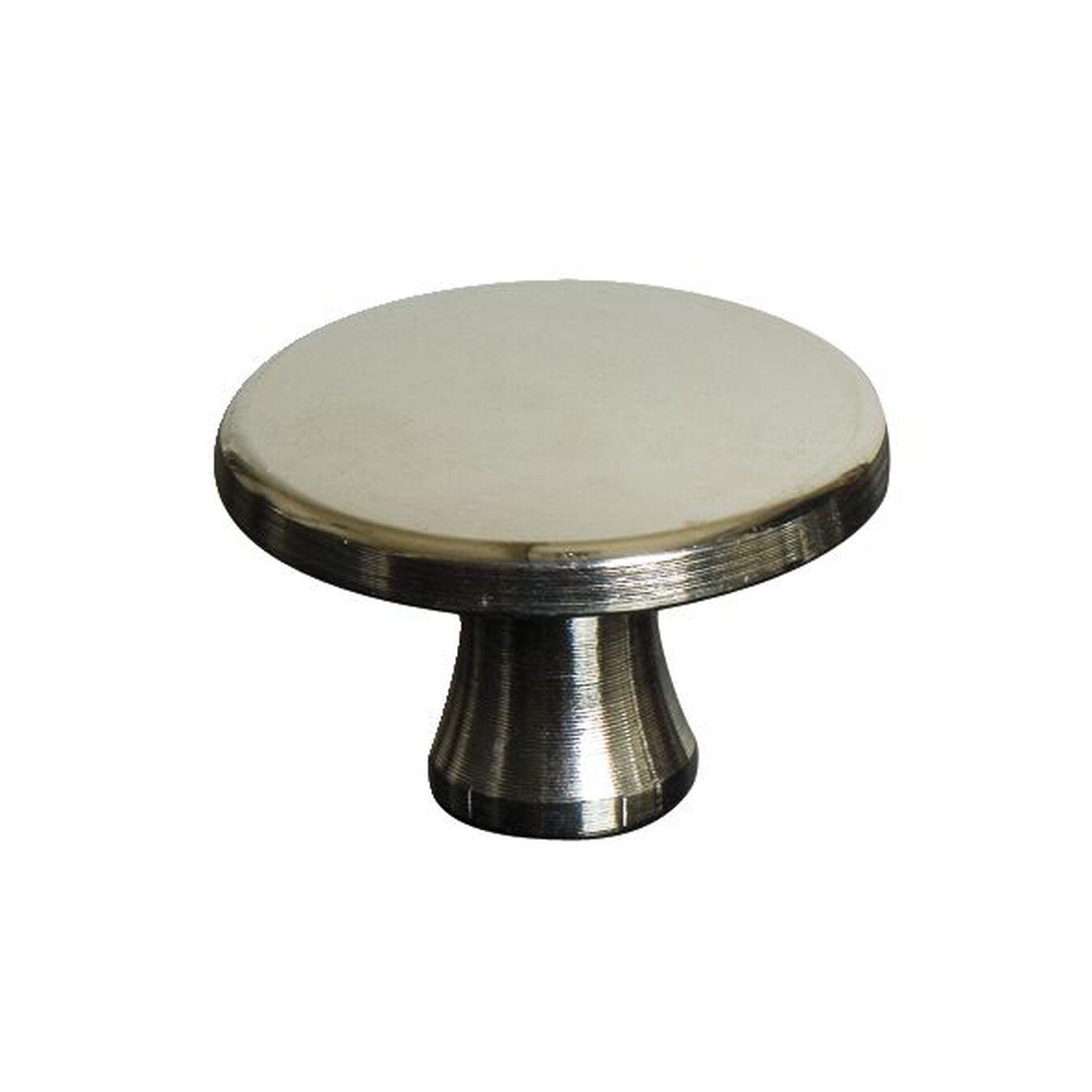 Puxador para caçarola em aço inox maciço 4 cm, Níquel,,large 1