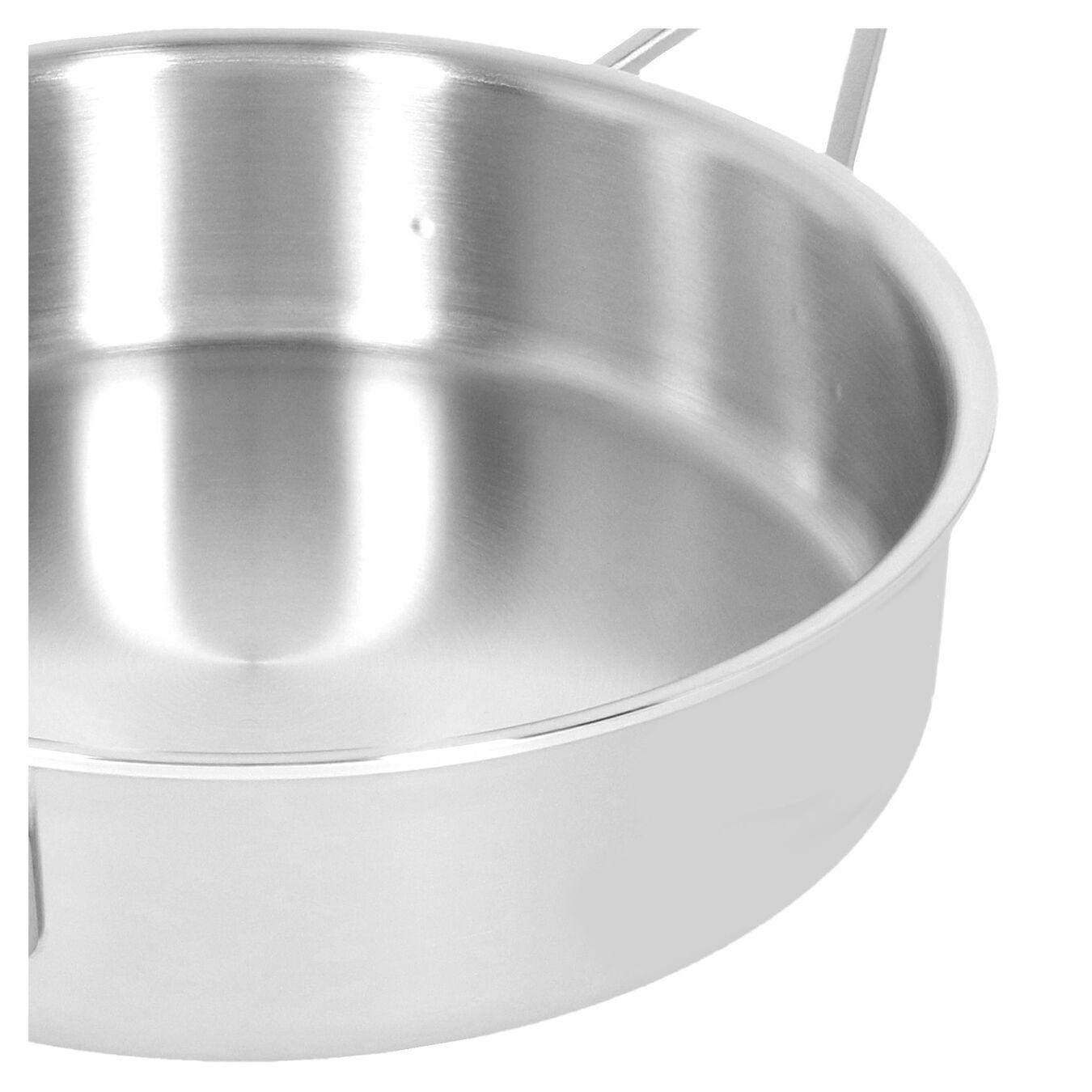 Tegame con coperchio - 28 cm, 18/10 acciaio inossidabile,,large 5