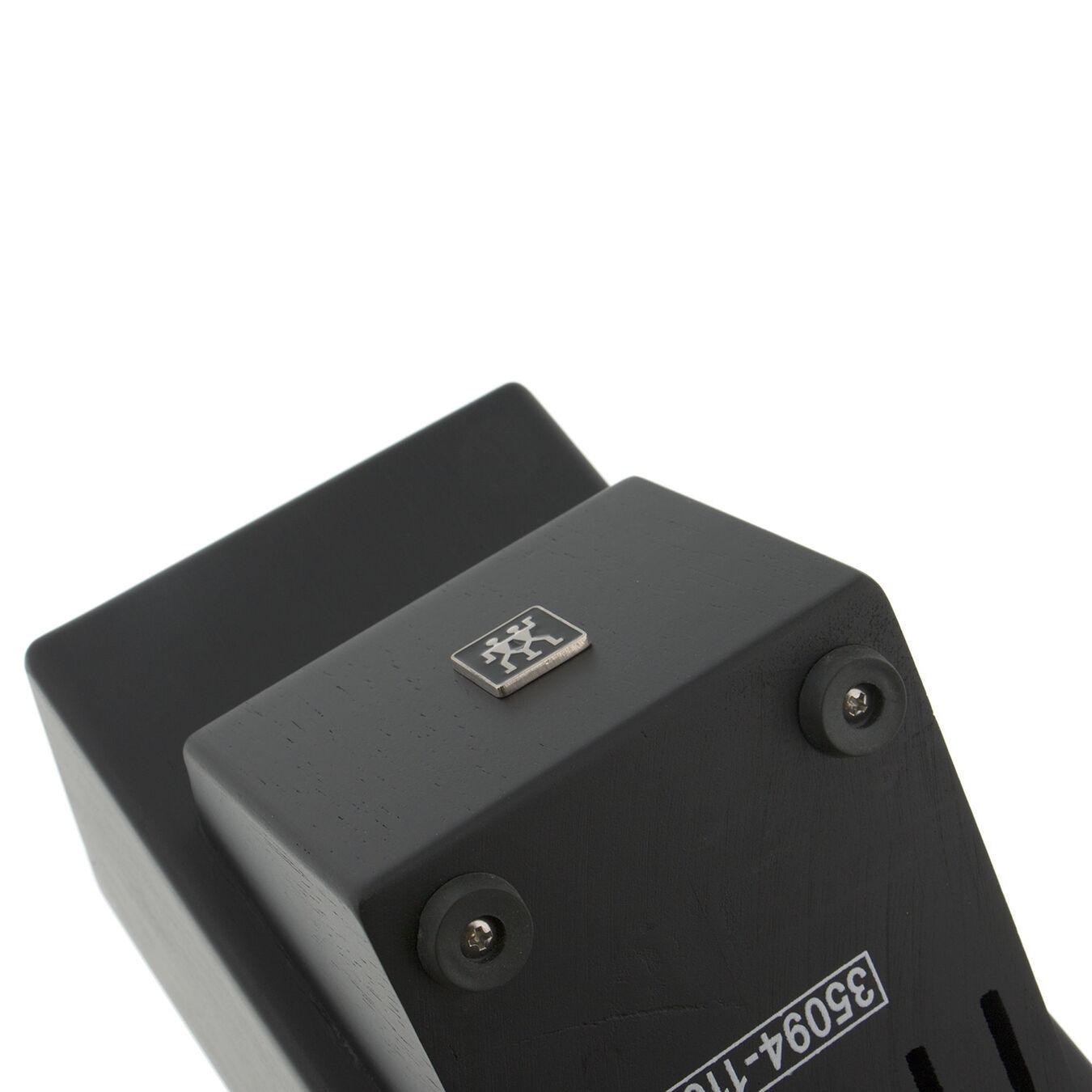 Rubberwood Black 16-slot block,,large 4