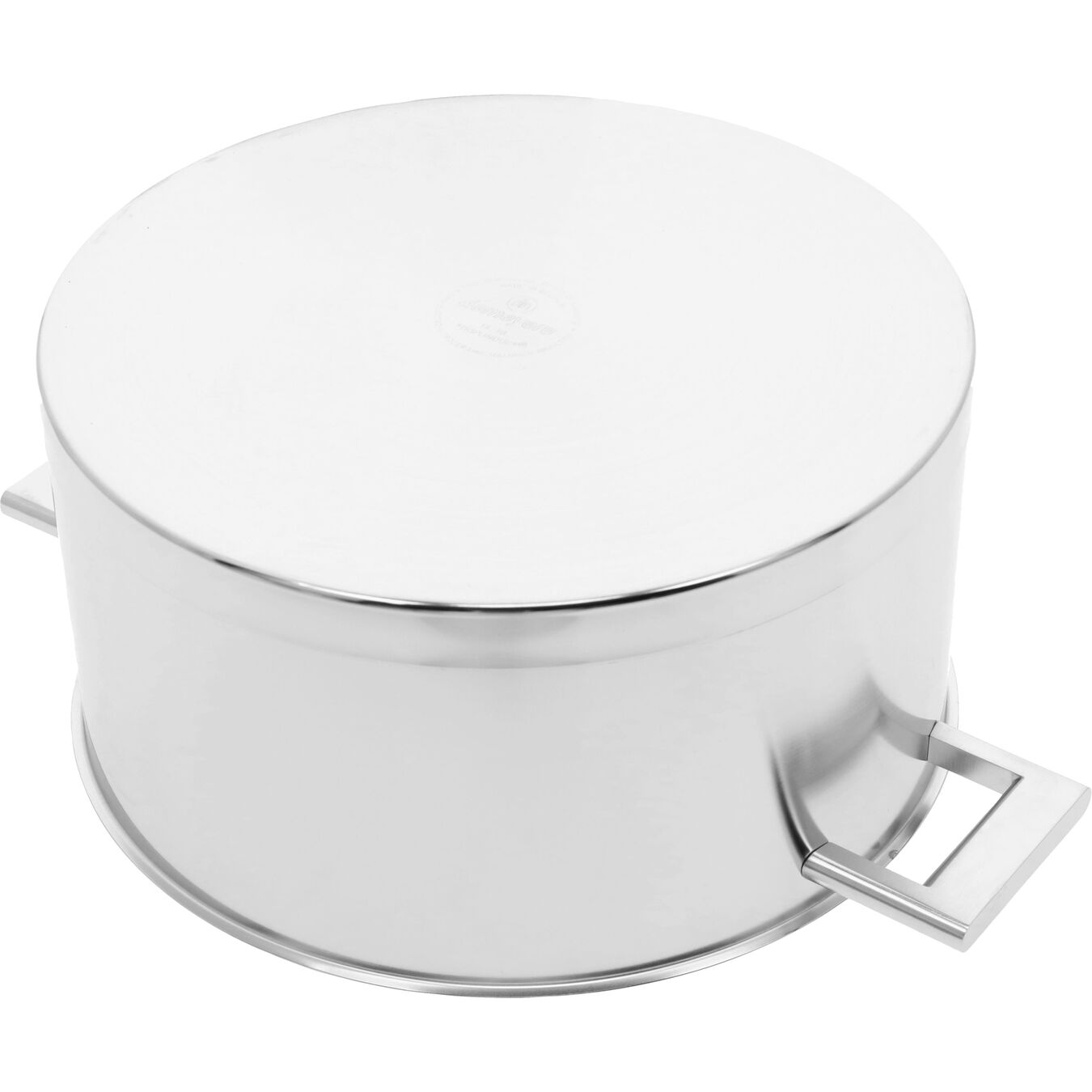 8.9 qt, 18/10 Stainless Steel, Dutch Oven with Lid,,large 3