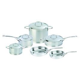 Demeyere Atlantis, 10-pcs 18/10 Stainless Steel Pots and pans set