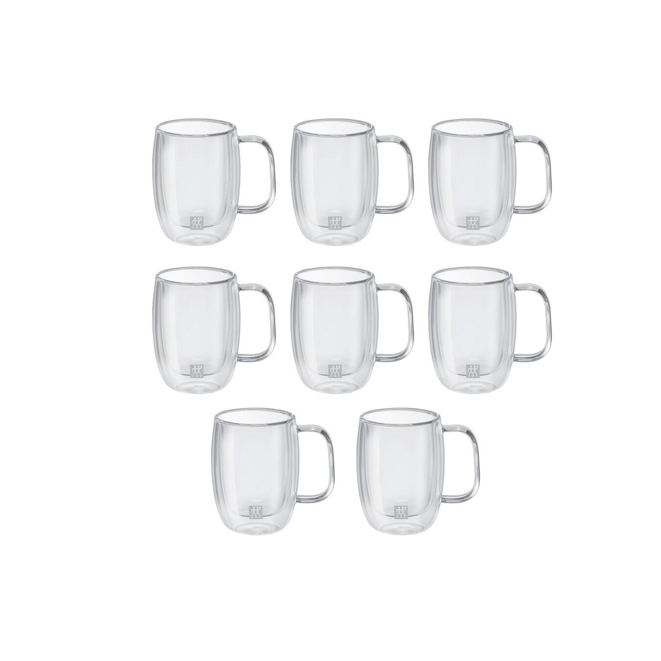8 Piece Double Espresso Mug Set - Value Pack,,large 3