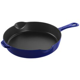 Staub Cast iron, 11'' Traditional Skillet - Dark Blue