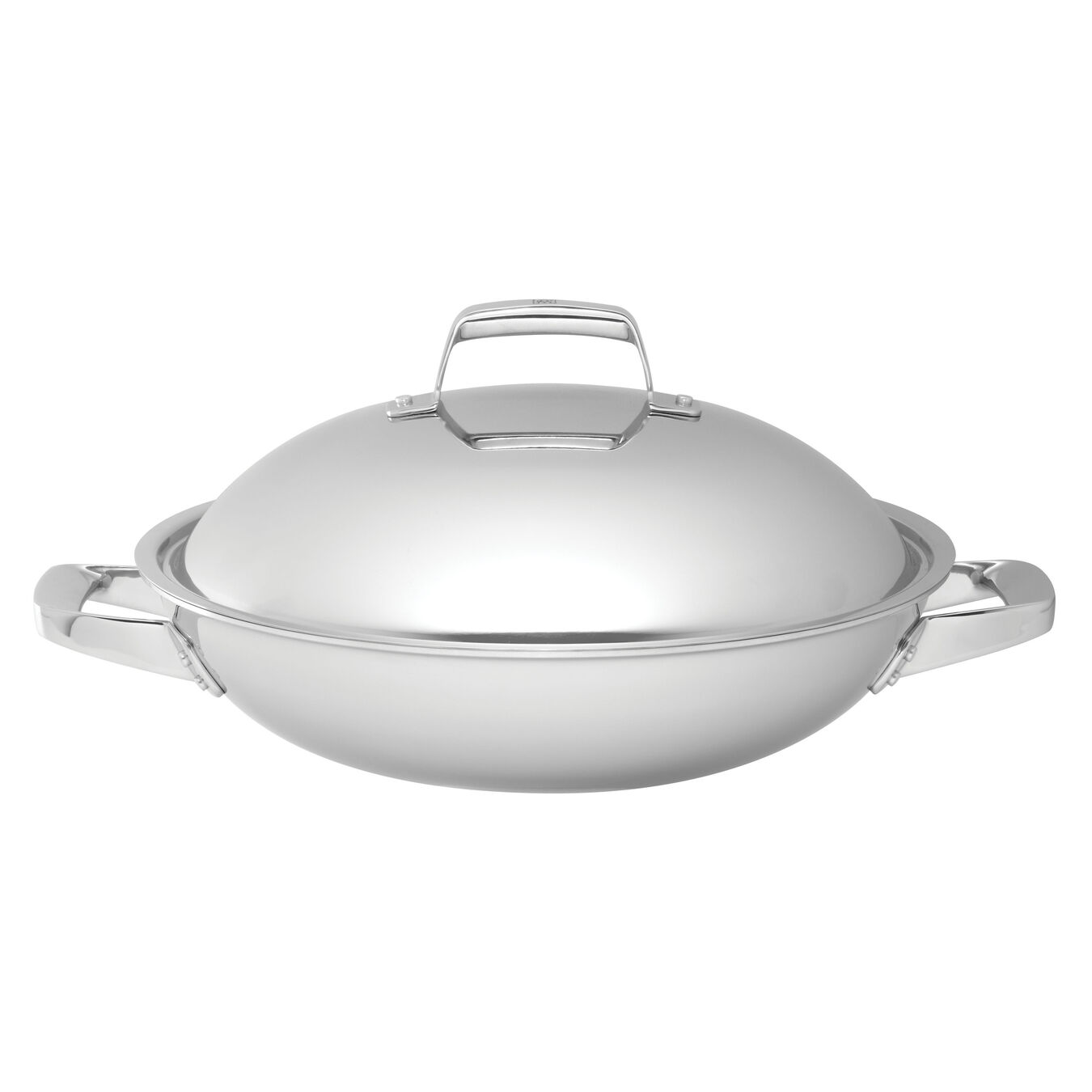 32 cm / 12.5 inch 18/10 Stainless Steel Wok,,large 1
