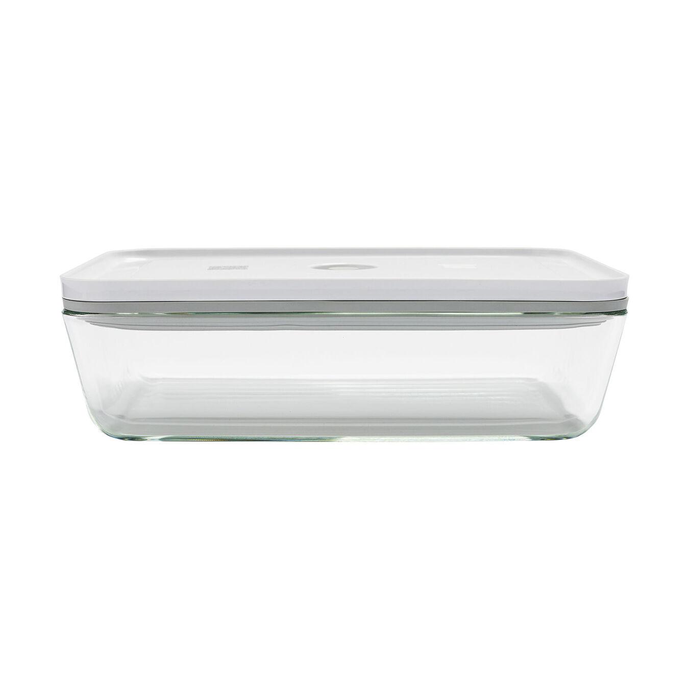 Vacuum gratin dish, White,,large 1