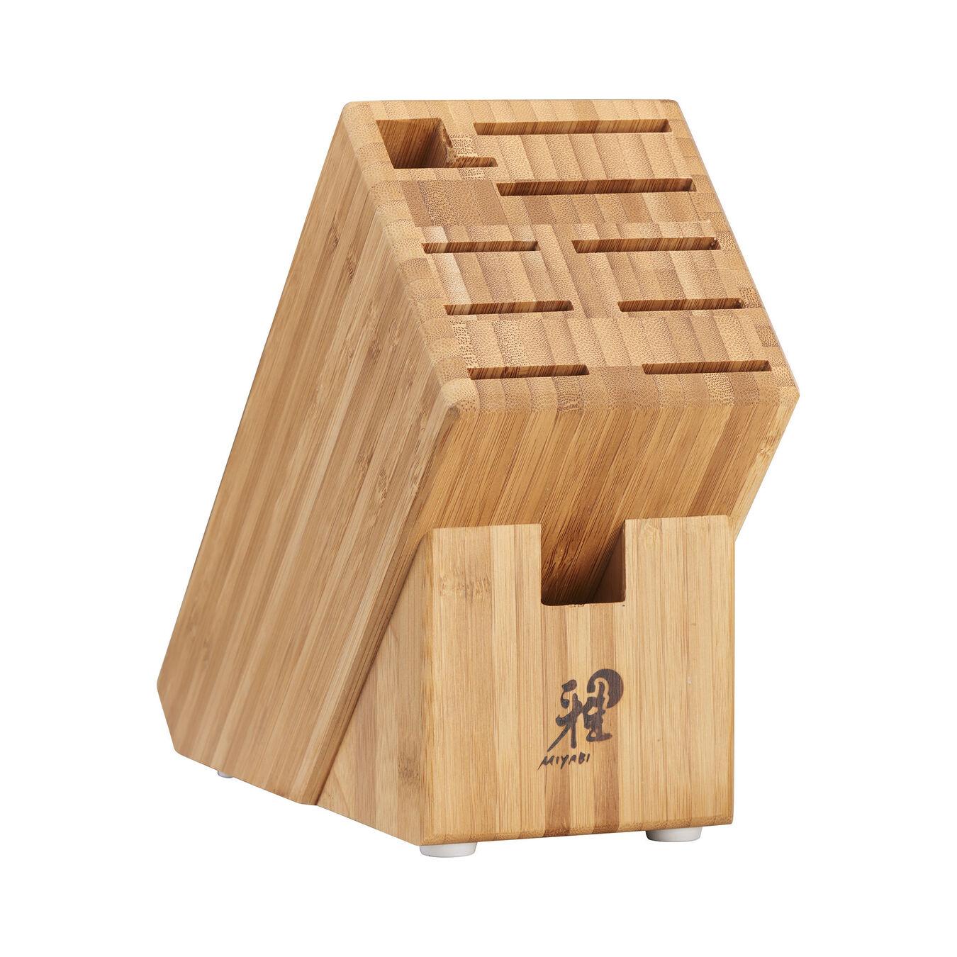 7-pc, Knife block set, brown,,large 3