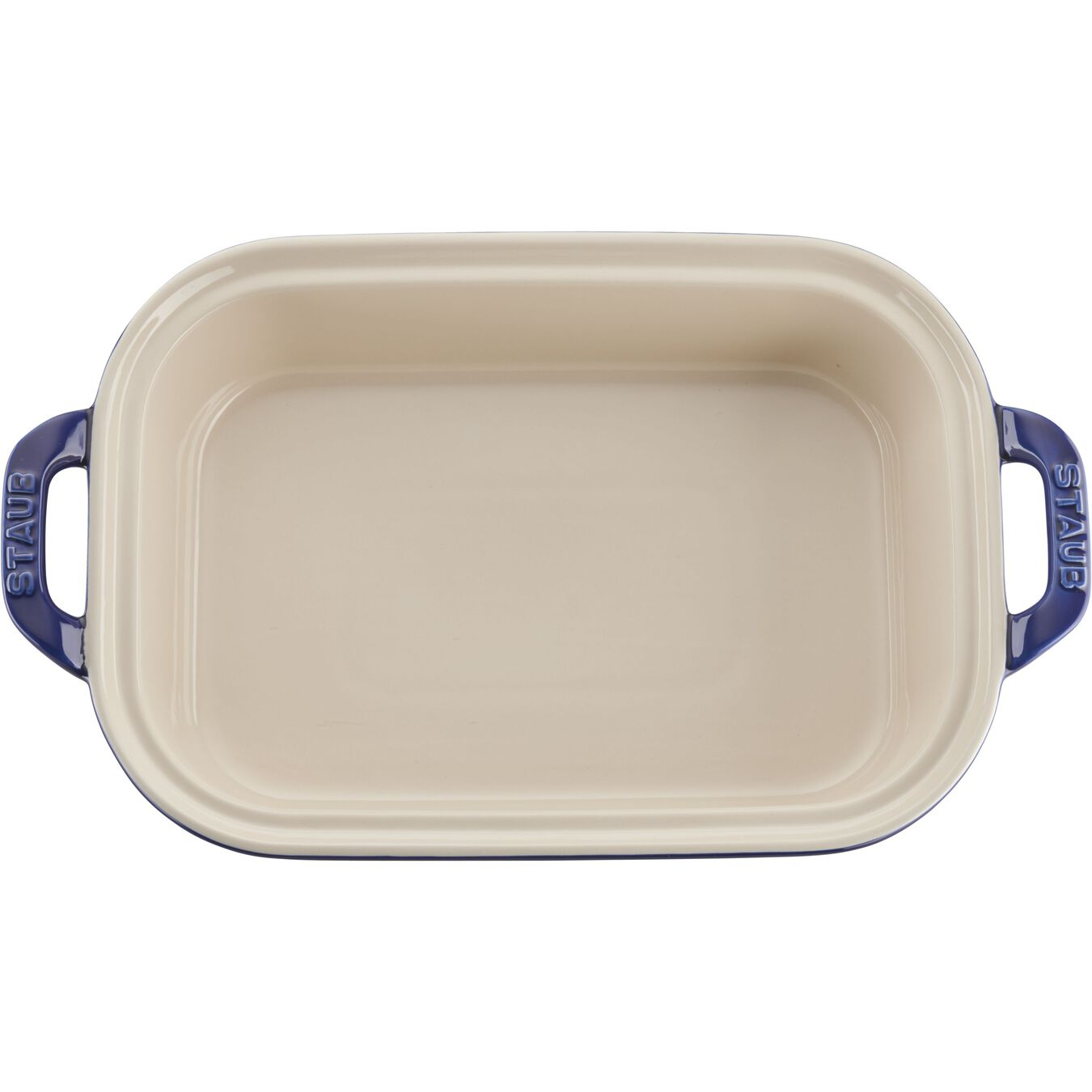 12-inch x 8-inch Rectangular Covered Baking Dish - Dark Blue,,large 4
