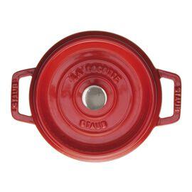 Staub La Cocotte, Caçarola 18 cm, redondo, Vermelho cereja, Ferro fundido