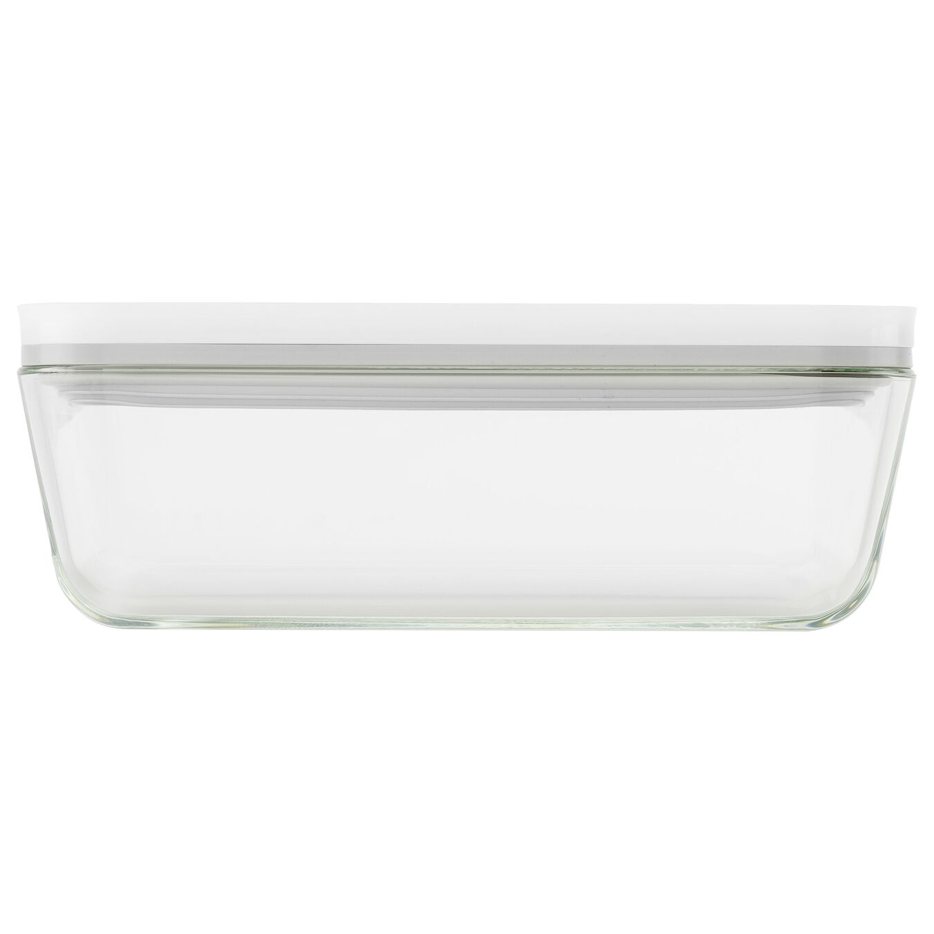 Vacuum fridge box, Borosilicate glass, white,,large 2