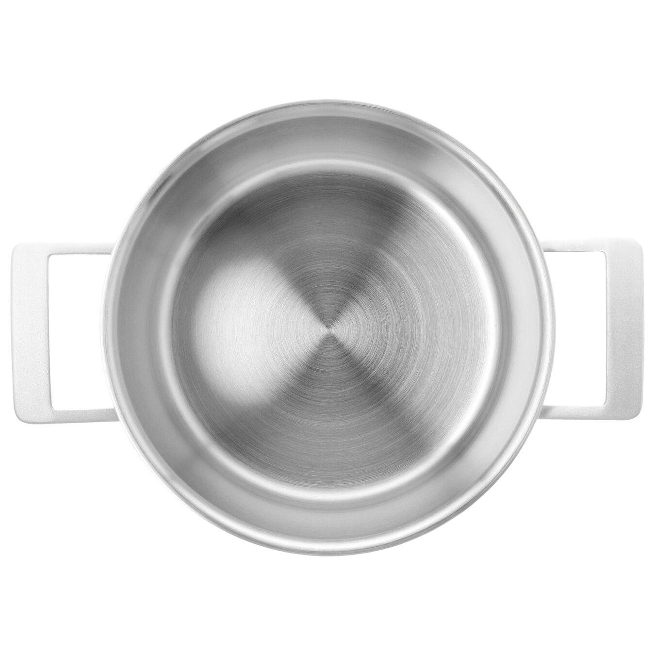 Pentola con coperchio - 24 cm, 18/10 Acciaio inossidabile,,large 4
