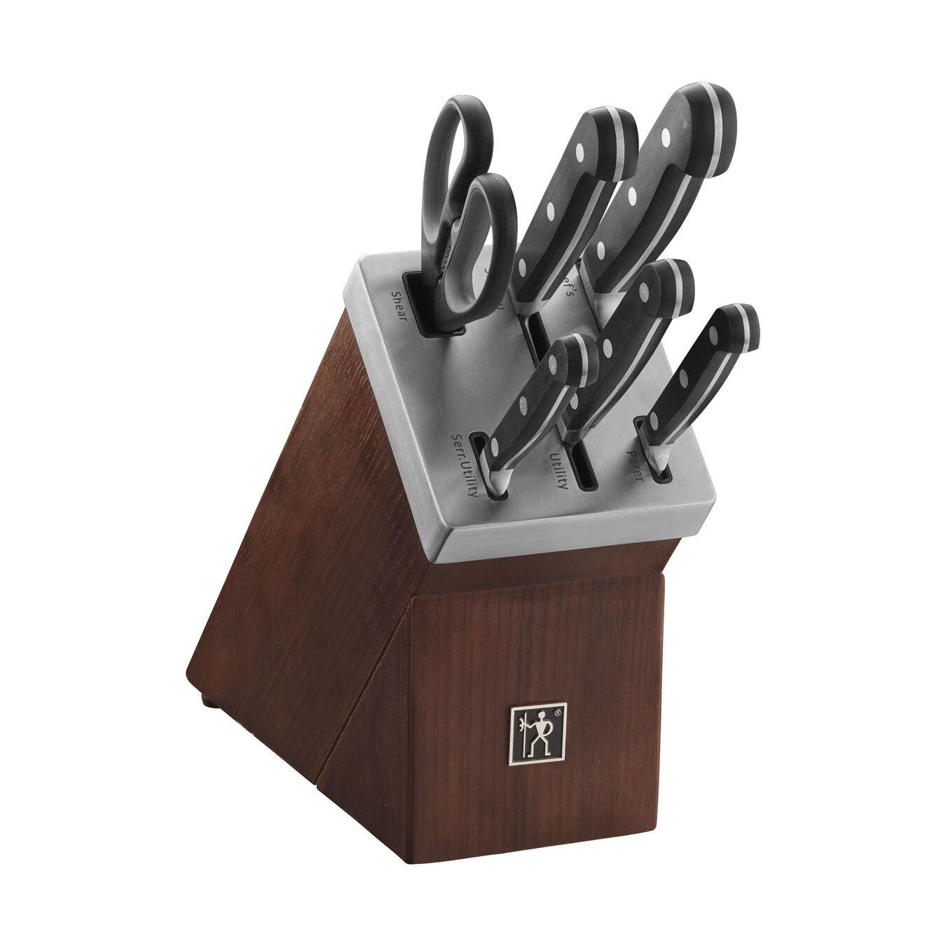 7-pc, Self Sharpening Knife Block Set,,large 2