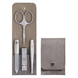ZWILLING TWINOX, 4-Piece Calf leather Snap fastener case