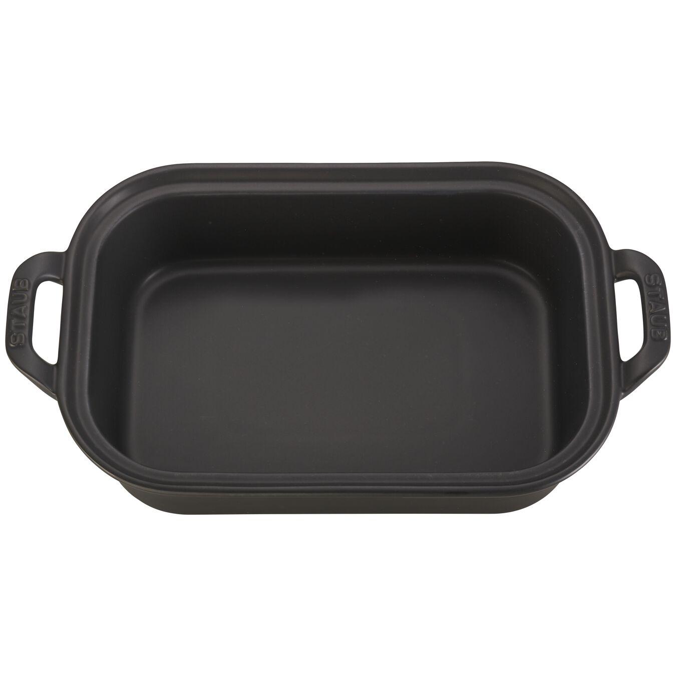 Ceramic rectangular Moules de forme spéciale, Black,,large 2